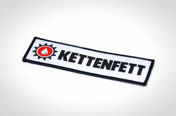 "Kettenfett Aufnäher ""Logo"""