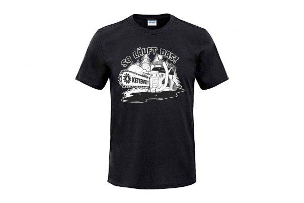 Kettenfett Shirt Kettensäge Unisex